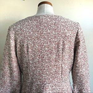 Maeve Dresses - Maeve Tweed Mid Length Shift Dress w/ bell sleeves